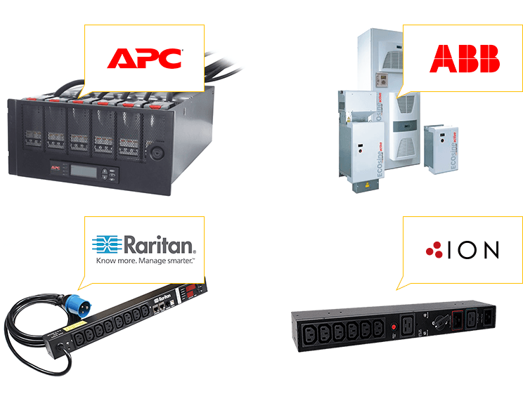 Power Distribution Products (PDUs) from APC, ABB & ION